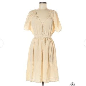 Calypso St. Barth Midi Silk Dress